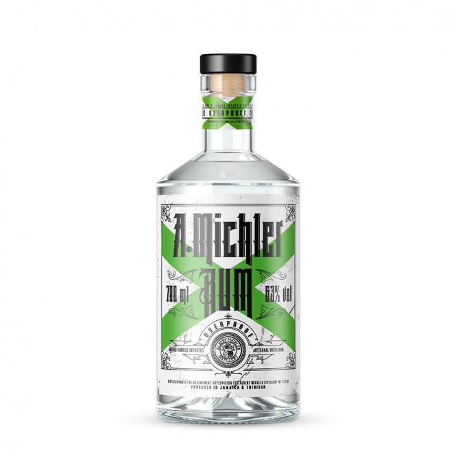 AM Michler's Rum Overproof 63%